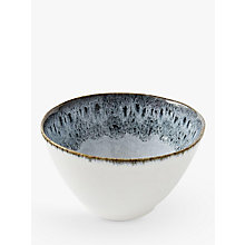 Buy west elm Reactive Bowl, Grey / White Online at johnlewis.com