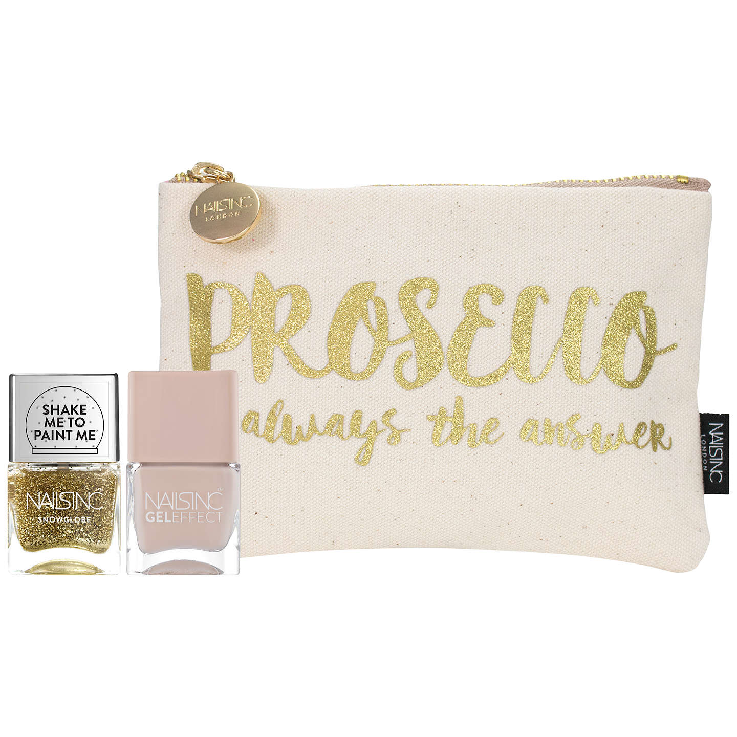 BuyNails Inc Prosecco Is Always The Answer Gift Set Online at johnlewis.com
