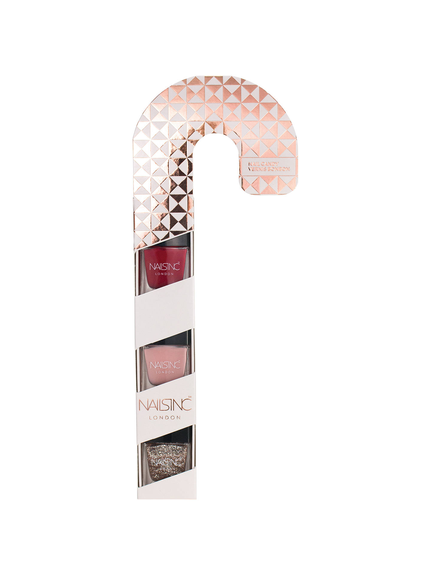BuyNails Inc Nail Candy Cane Gift Set Online at johnlewis.com
