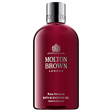 Buy Molton Brown Rosa Absolute Bath & Shower Gel, 300ml Online at johnlewis.com