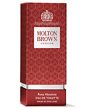 Buy Molton Brown Rosa Absolute Eau de Toilette, 50ml Online at johnlewis.com