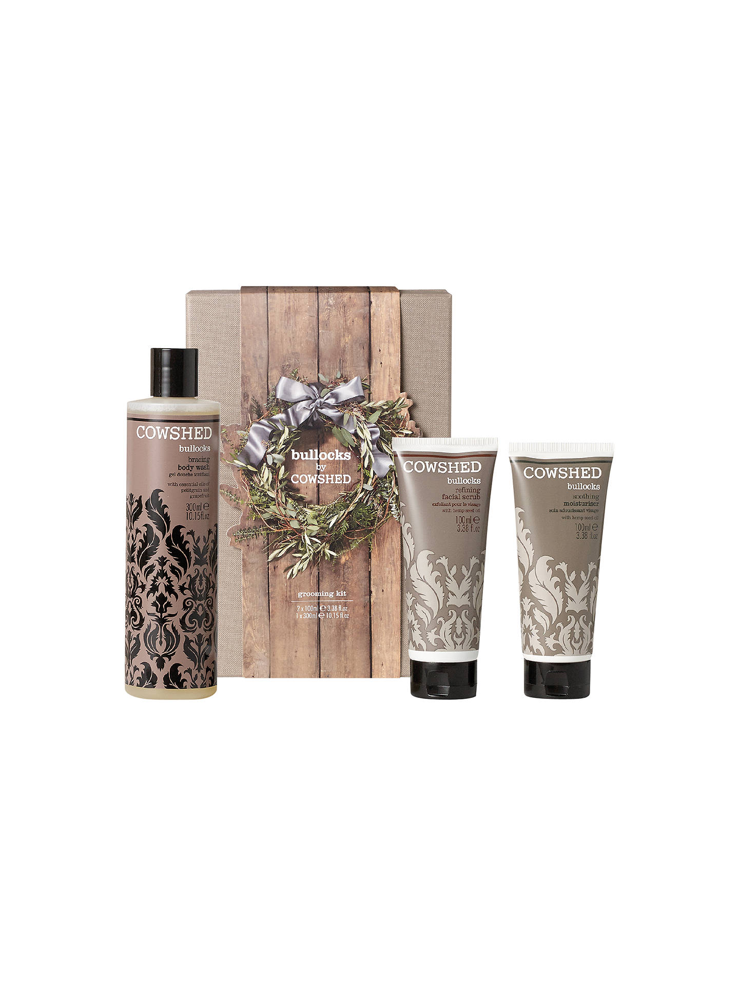 Buy Cowshed Bullocks Grooming Kit Online at johnlewis.com