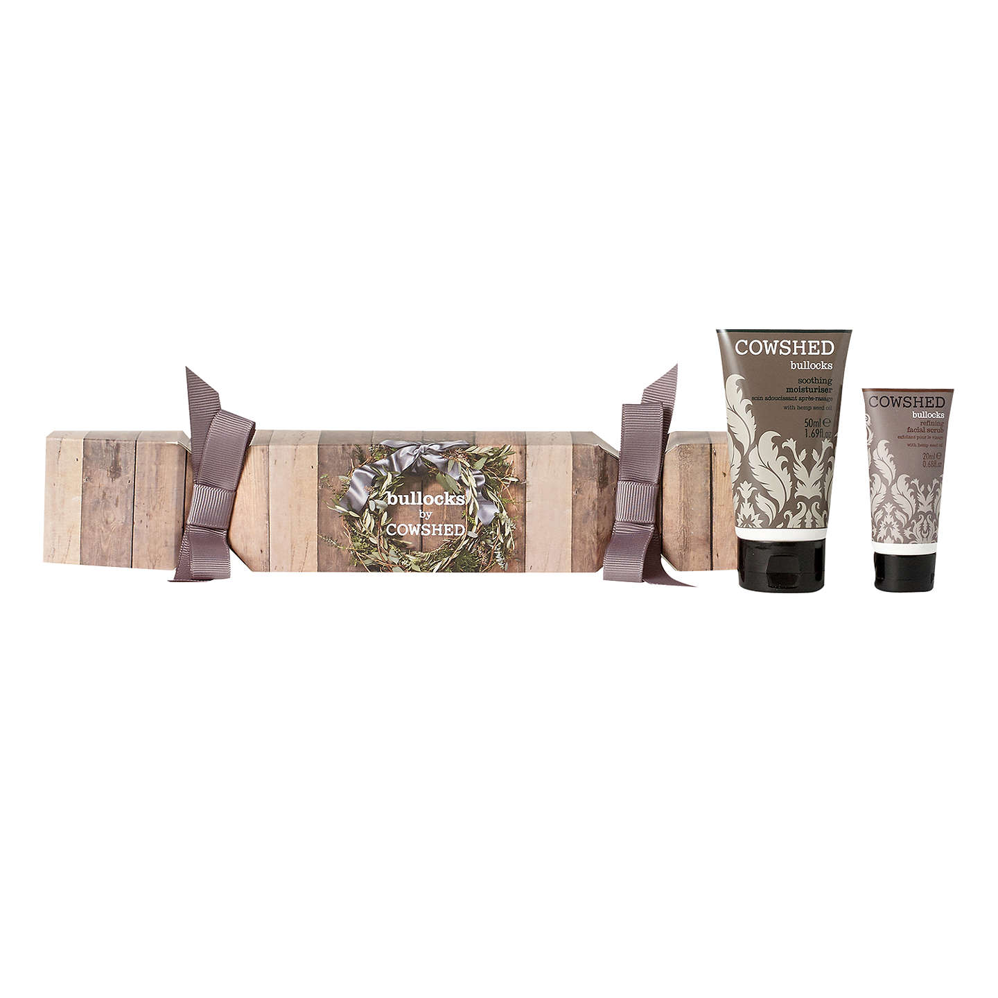 BuyCowshed Bullocks Wreath Cracker Skin Care Kit Online at johnlewis.com