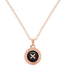 Buy Ted Baker Emmalyn Button Pendant Necklace Online at johnlewis.com