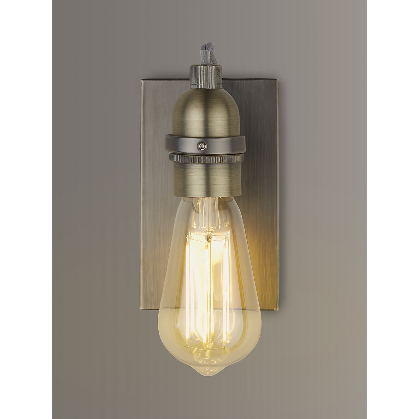 John Lewis Ceiling Lights Antique Brass : Wall lights for bedroom john lewis buy meena