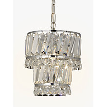Buy John Lewis Celeste Easy-to-Fit Pendant Ceiling Light, Crystal/Clear Online at johnlewis.com