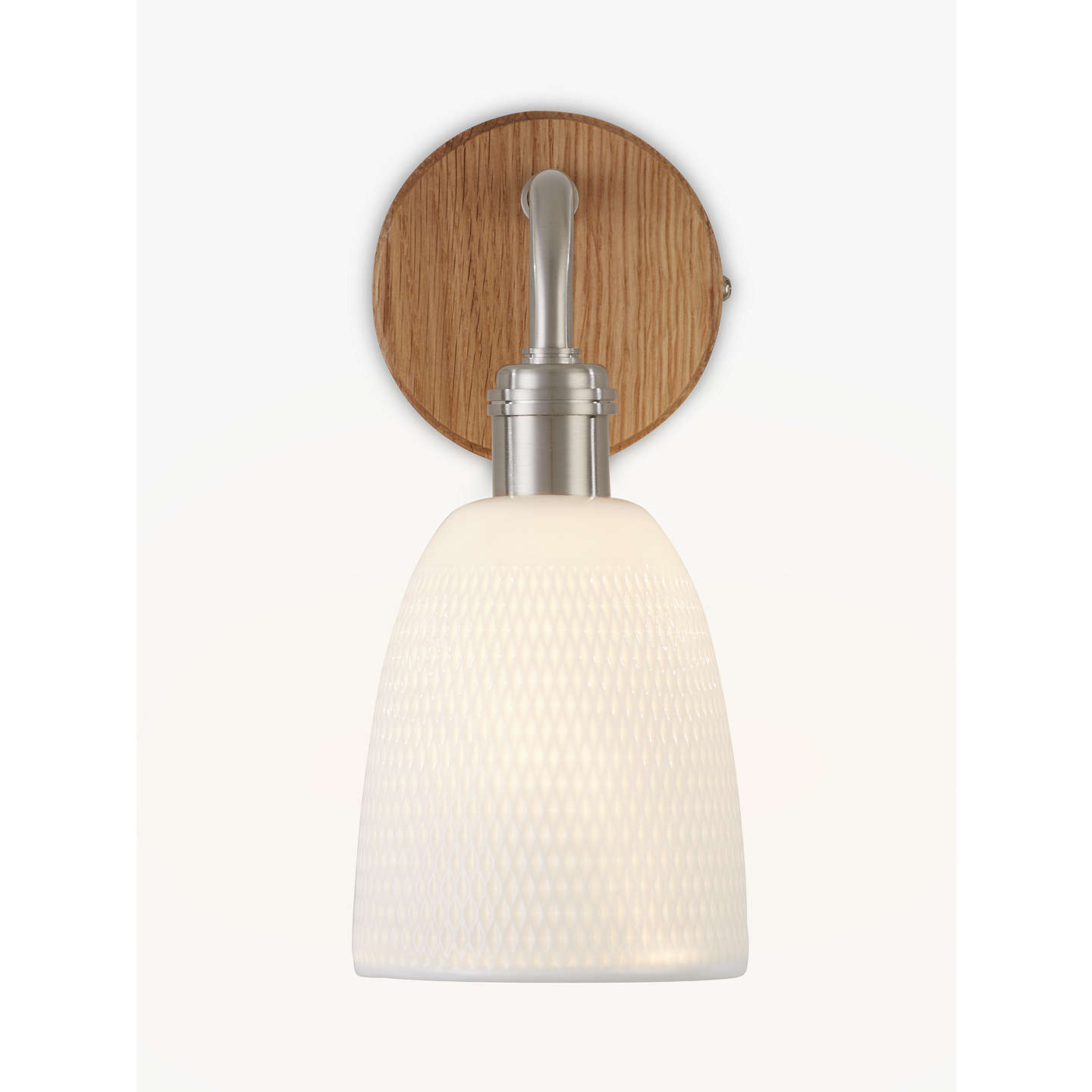 John lewis fitcham wood and ceramic wall light white at john lewis buyjohn lewis fitcham wood and ceramic wall light white online at johnlewis aloadofball Choice Image