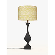 Buy John Lewis Desta Painted Console Lamp Base, Black Online at johnlewis.com
