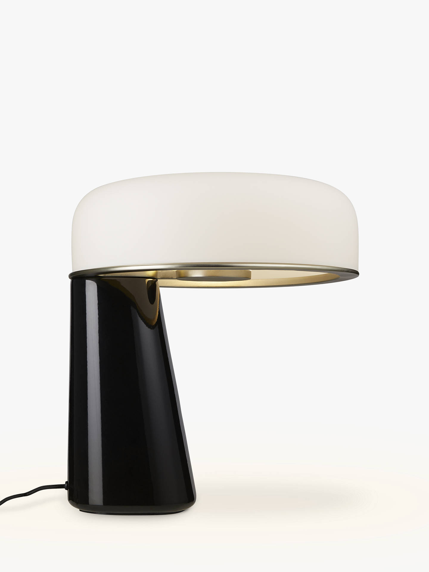 Doshi Levien For John Lewis Open Home Falcon Led Table Lamp Black
