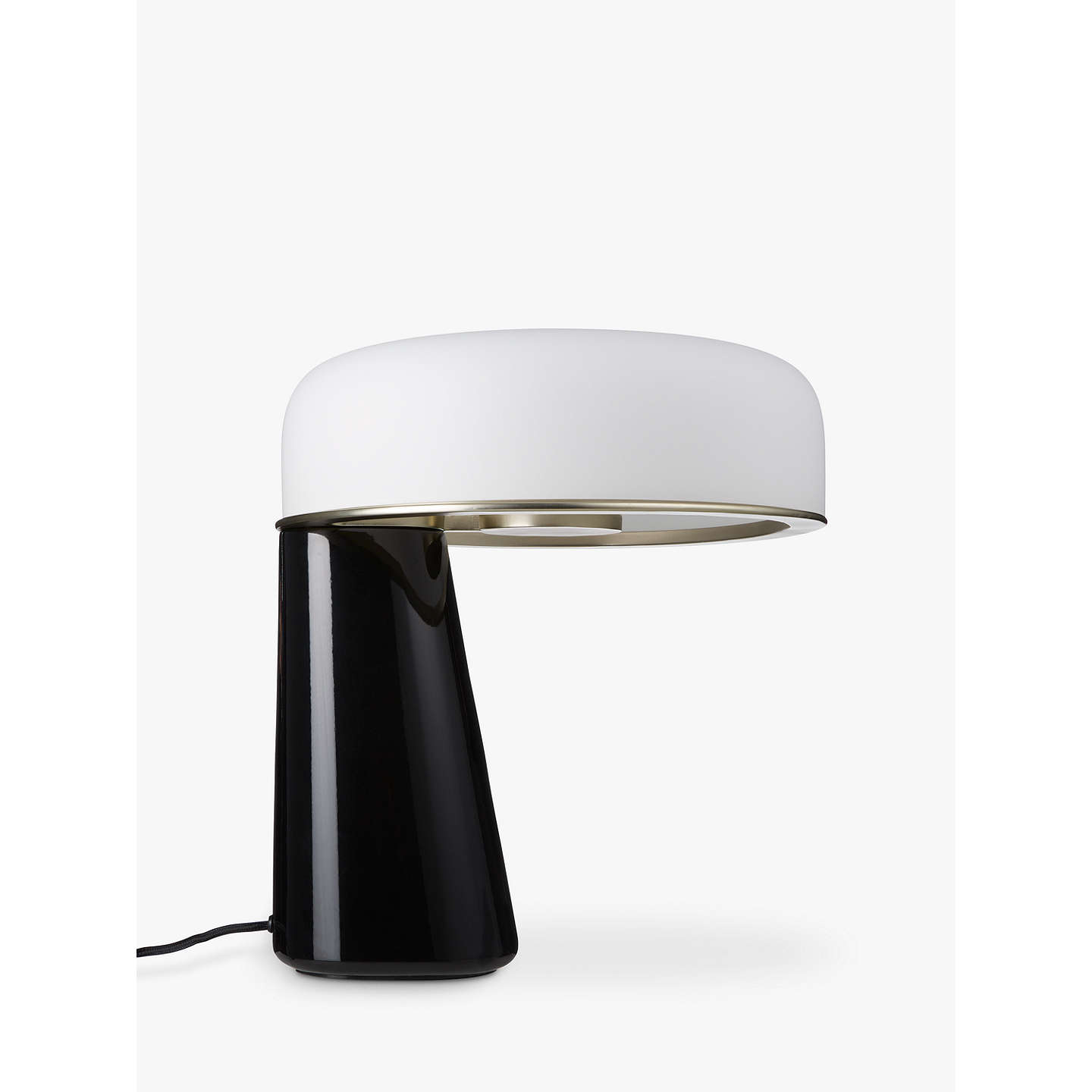 BuyDoshi Levien for John Lewis Open Home Falcon LED Table Lamp, Black Online at johnlewis.com