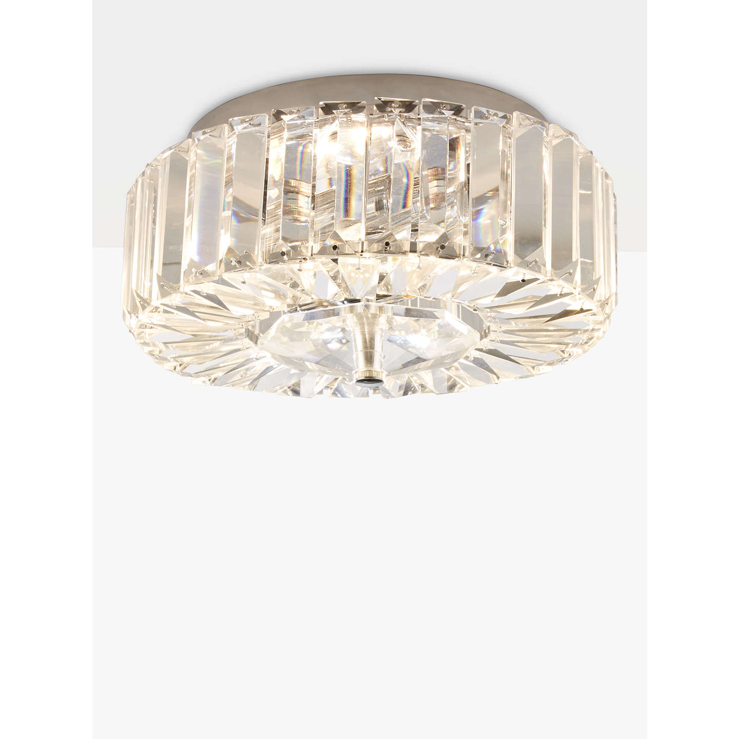 John lewis esme crystal flush ceiling light chrome at john lewis buyjohn lewis esme crystal flush ceiling light chrome online at johnlewis aloadofball Choice Image
