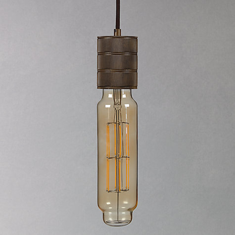 Buy Calex XXL Filament Tube and Cord Set, Clear/Gold Online at johnlewis.com