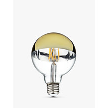 Buy Calex ES LED Mirror Top Film Decorative Light Bulb, Gold Online at johnlewis.com