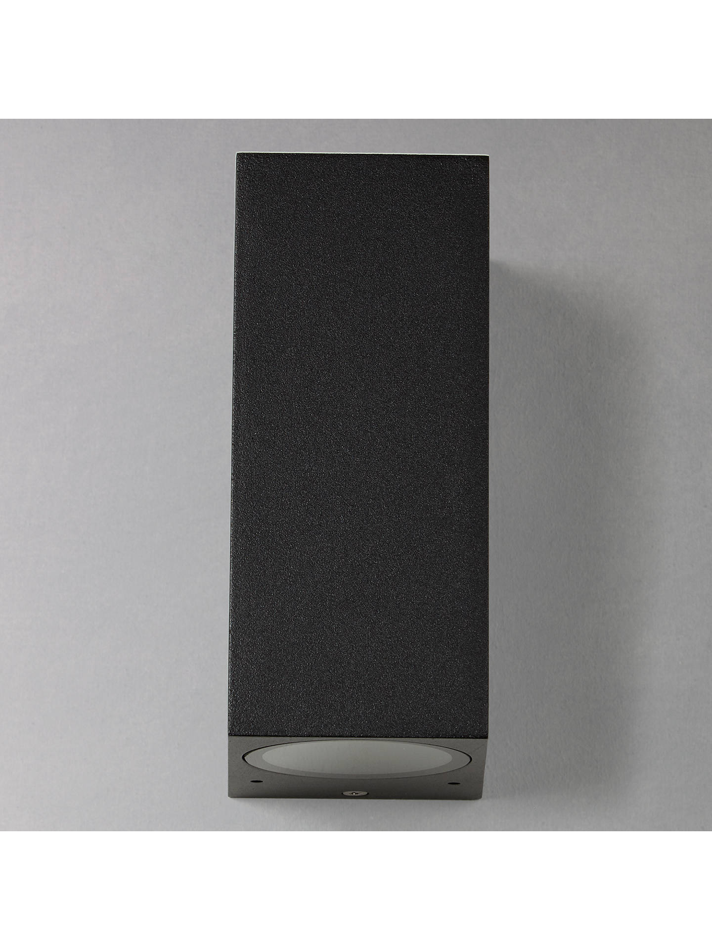 BuyAstro Chios 150 Outdoor Wall Light, Black Online at johnlewis.com