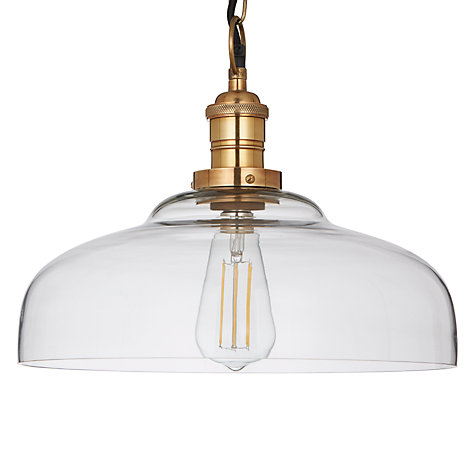 Buy John Lewis Croft Collection Clyde Glass Pendant Ceiling Light John Lewis