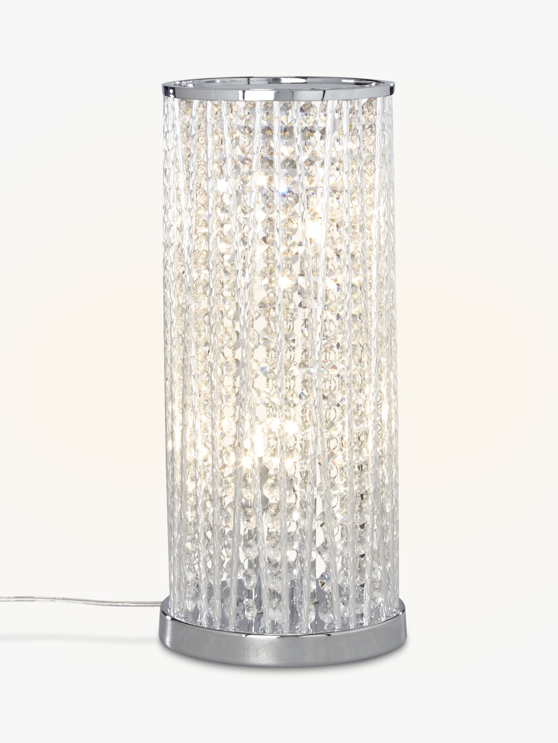 John Lewis Partners Emilia Large Table Lamp Clear