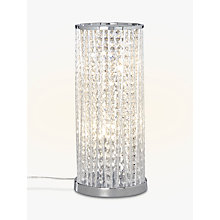 Buy John Lewis Emilia Large Table Lamp, Clear Online at johnlewis.com