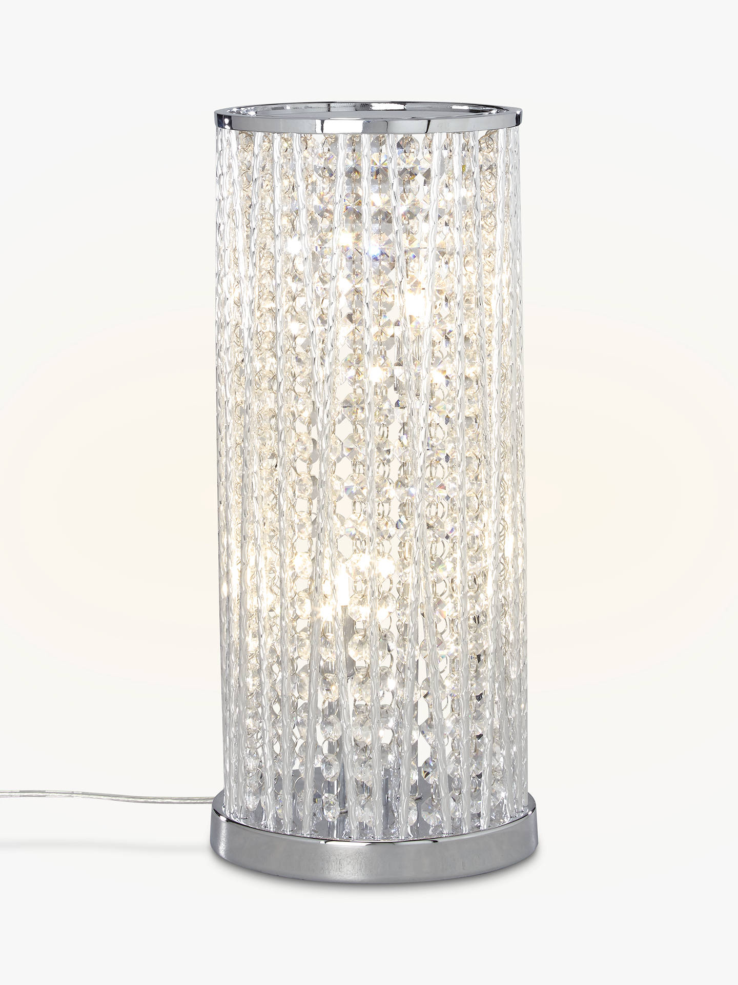 BuyJohn Lewis & Partners Emilia Large Table Lamp, Clear Online at johnlewis.com
