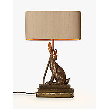 Buy David Hunt Hare Table Lamp, Bronze Online at johnlewis.com
