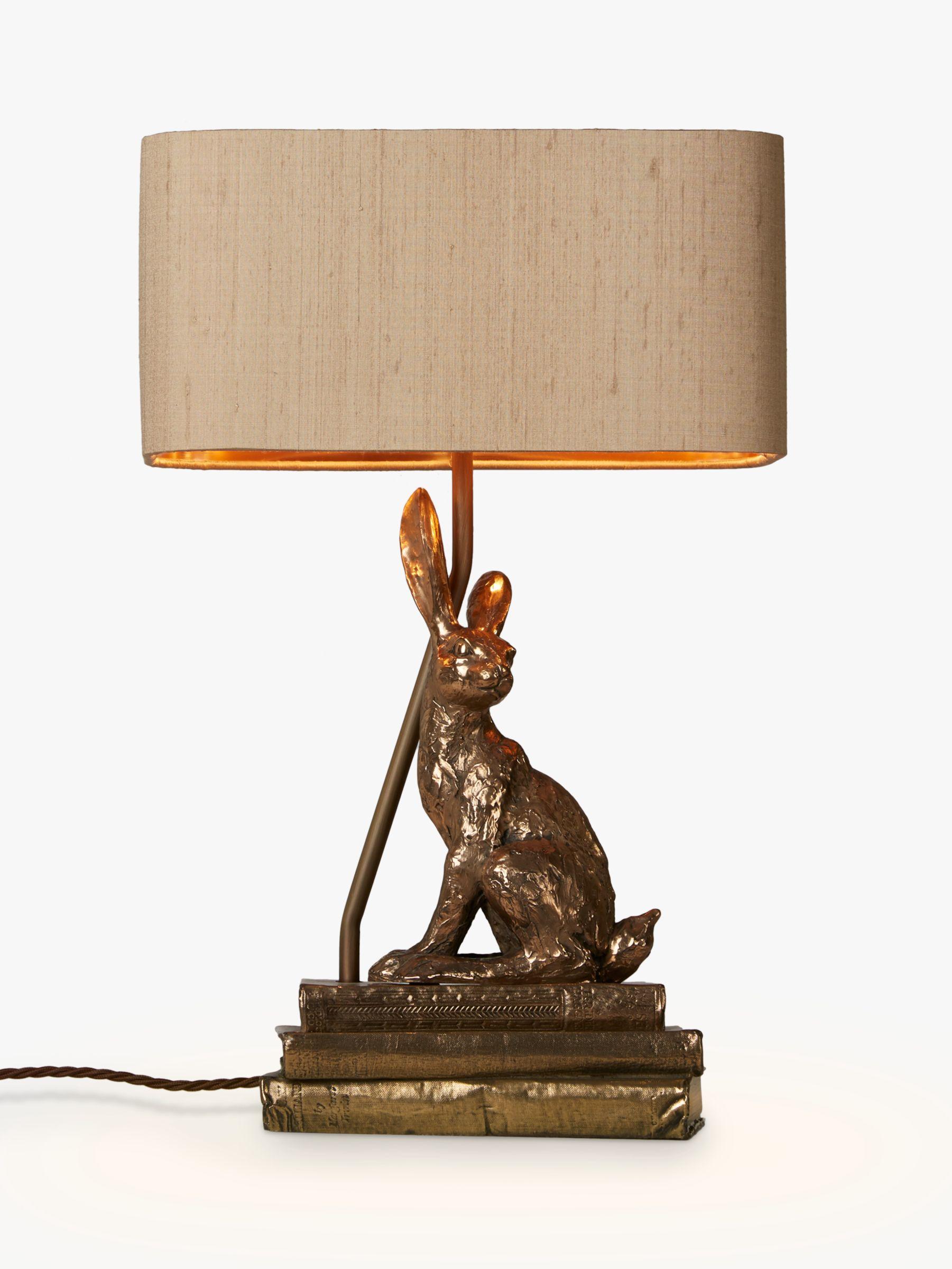 David Hunt David Hunt Hare Table Lamp, Bronze