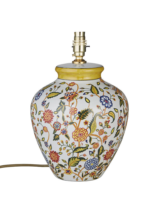 India Jane V A Tapestry Lamp Base, John Lewis Table Lamps India Jane