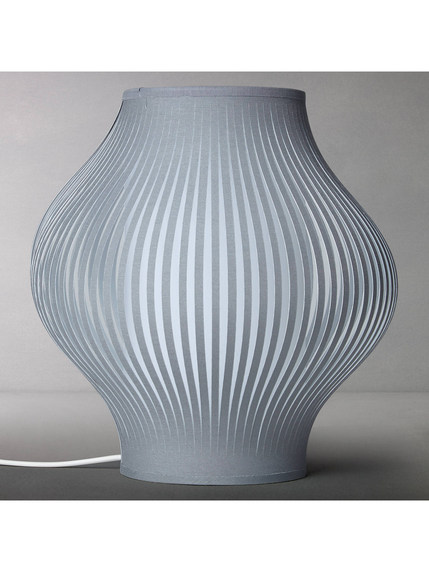 BuyJohn Lewis & Partners Harmony Mini Table Lamp, Grey Online at johnlewis.com