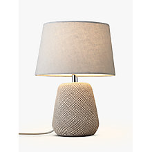 Buy John Lewis Iona Table Lamp, Natural Online at johnlewis.com