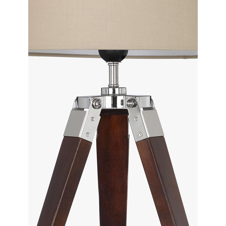 John lewis jacques dark wood table lamp brown at john lewis buyjohn lewis jacques dark wood table lamp brown online at johnlewis aloadofball Choice Image