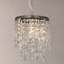 Buy John Lewis Pheodora Easy-to-Fit Ceiling Shade, Clear Online at johnlewis.com
