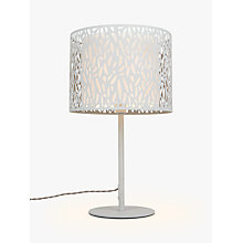 Buy John Lewis Meadow Table Lamp, Grey Online at johnlewis.com