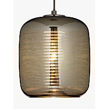 Buy John Lewis Pluto Horizon Stripe Pendant Ceiling Light Online at johnlewis.com