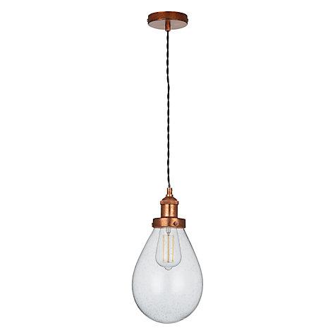 Buy John Lewis Radley Glass Bistro Pendant Ceiling Light
