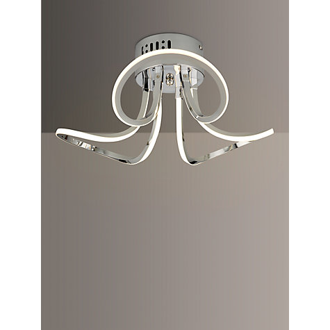 Buy john lewis ora semi flush led ceiling light john lewis buy john lewis ora semi flush led ceiling light online at johnlewis aloadofball Gallery