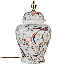 Buy India Jane V&A Bird of Paradise Lamp Base, Multi Online at johnlewis.com