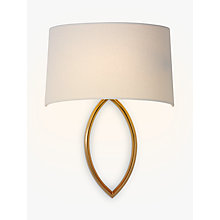 Buy John Lewis Lopez Shaded Wall Light Online at johnlewis.com