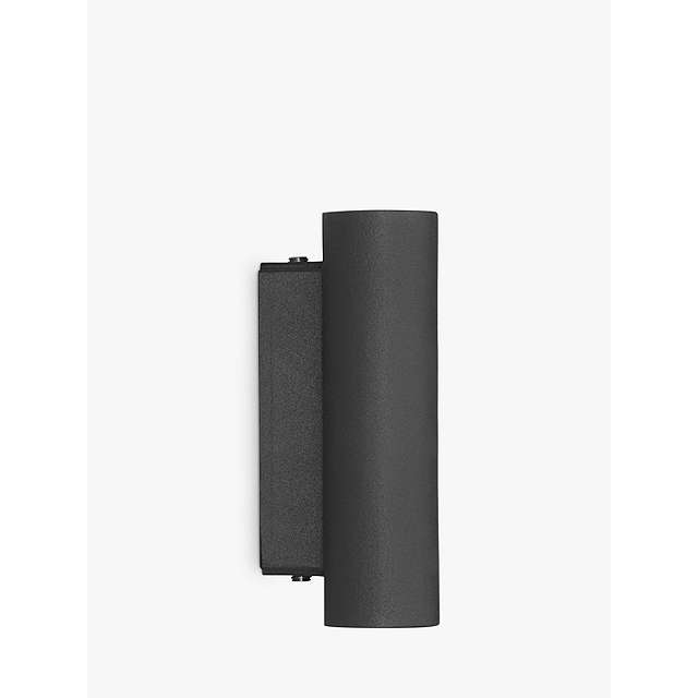 BuyJohn Lewis Olbia LED Outdoor Wall Light, Charcoal Online at johnlewis.com