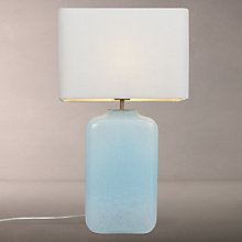 Buy John Lewis Renee Milky Glass Table Lamp Online at johnlewis.com
