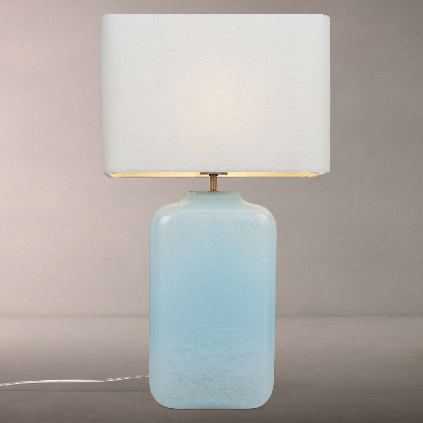 john lewis renee milky glass table lamp at john lewis