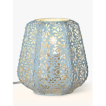 Buy John Lewis Rosanna Table Lamp, Duck Egg Online at johnlewis.com
