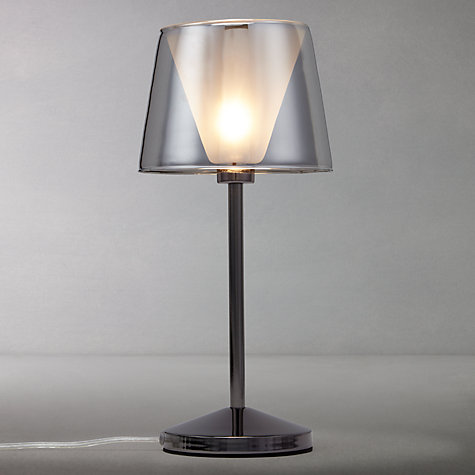 Buy John Lewis Tempest Touch Table Lamp, Smoke Online at johnlewis.com