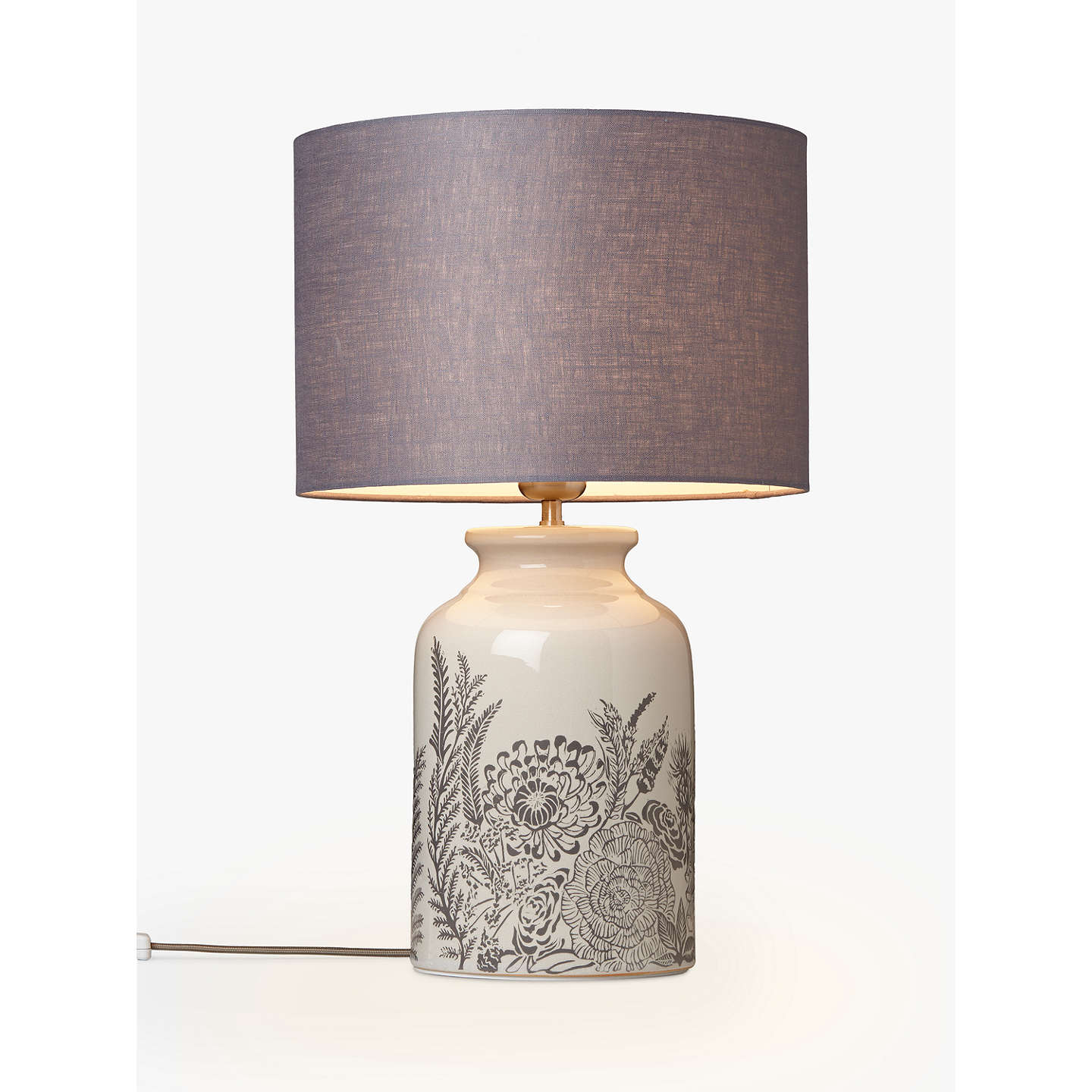 John lewis woodcroft crackle glaze table lamp cream at john lewis buyjohn lewis woodcroft crackle glaze table lamp cream online at johnlewis aloadofball