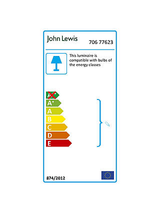 Buy ANYDAY John Lewis & Partners Robertson Table Lamp, Chrome Online at johnlewis.com