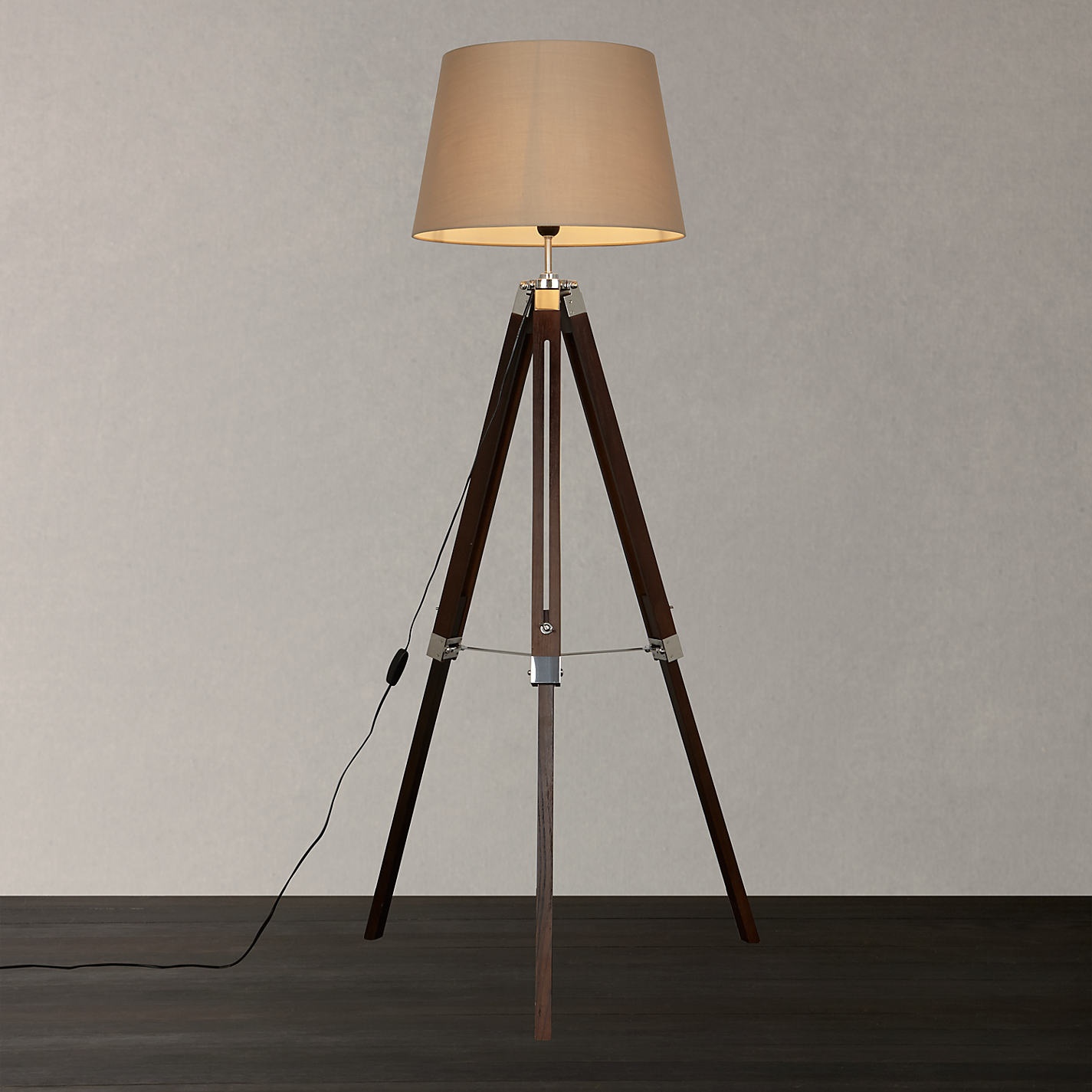 Buy john lewis jacques tripod floor lamp online at for Buy floor lamp online