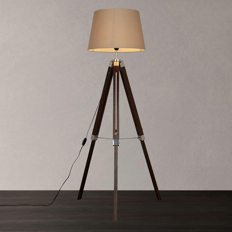 John Lewis Jacques Tripod Floor Lamp At John Lewis