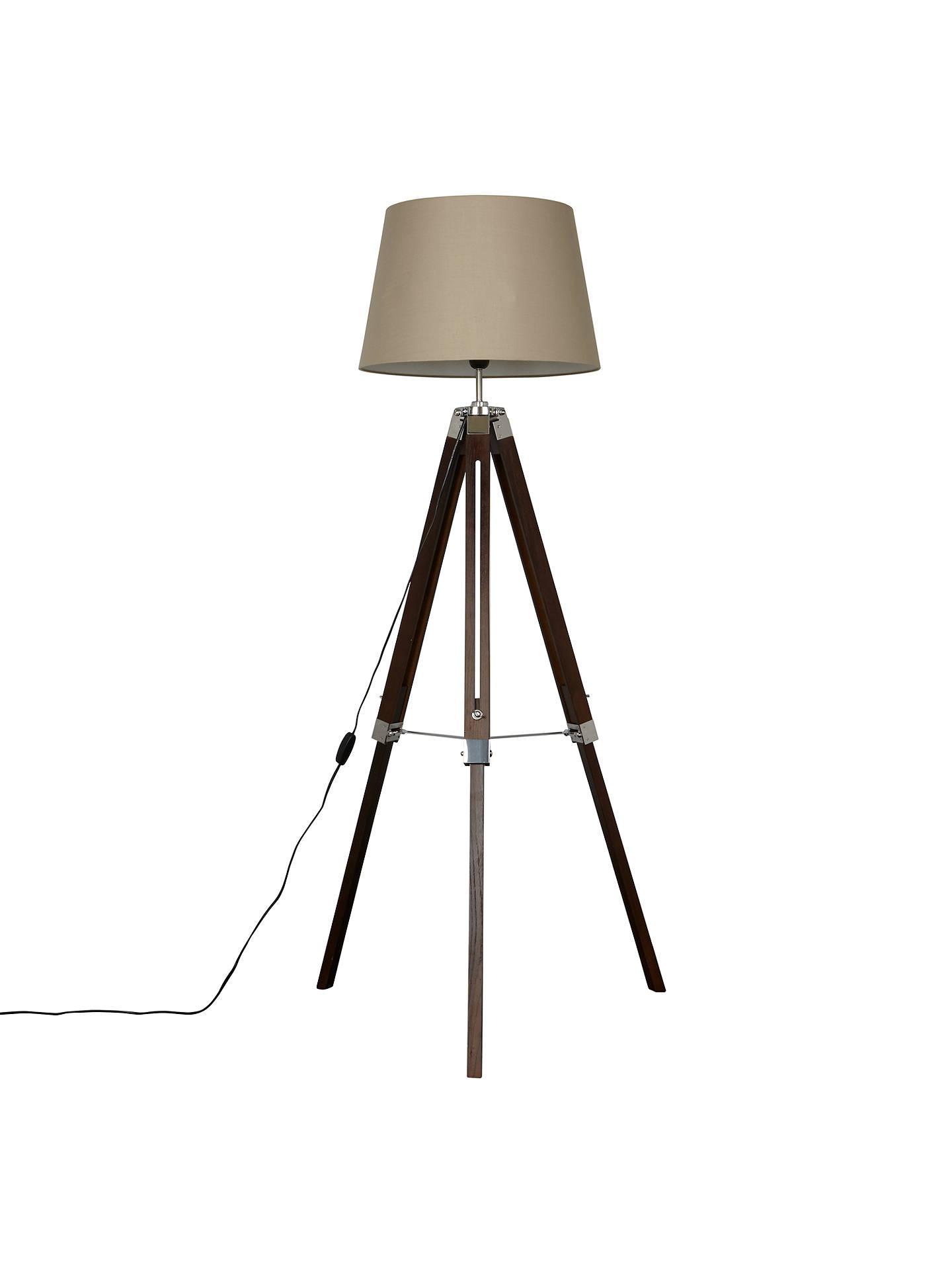 John Lewis Amp Partners Jacques Tripod Floor Lamp At John