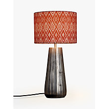 Buy John Lewis Salma Small Ribbed Lamp Base, Antique Nickel Online at johnlewis.com