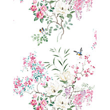 Buy Sanderson Waterperry Magnolia Wallpaper 216306, Panel B Online at johnlewis.com