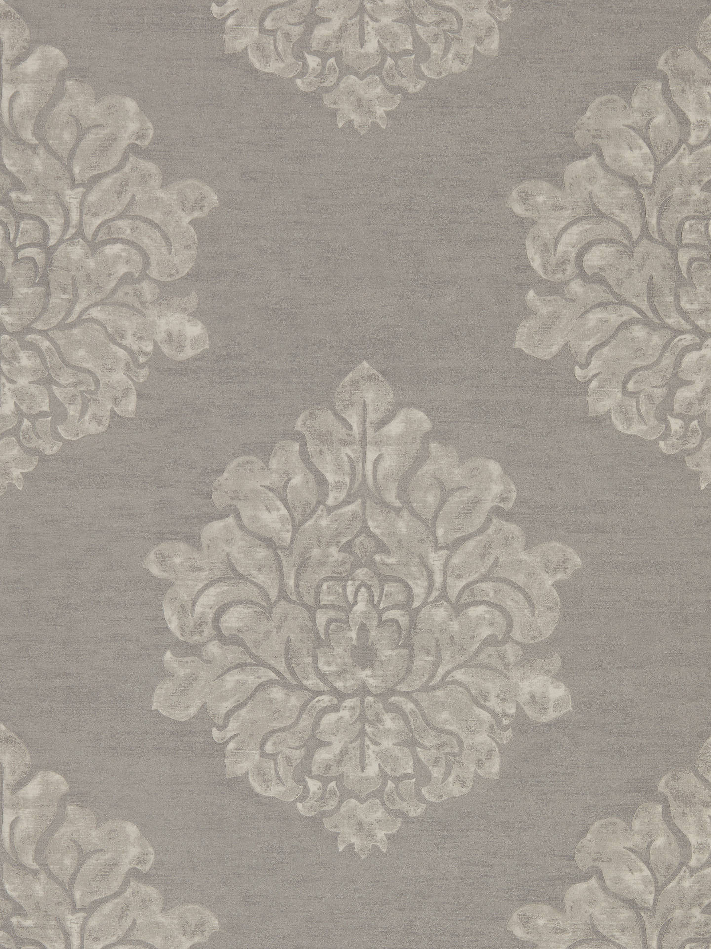 Buy Sanderson Waterperry Laurie Wallpaper, Charcoal 216270 Online at johnlewis.com