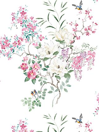 Sanderson Waterperry Magnolia Wallpaper 216305, Panel A
