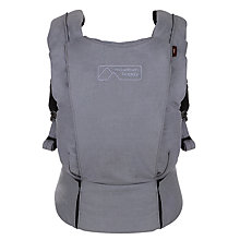 Buy Mountain Buggy Juno Baby Carrier, Charcoal Grey Online at johnlewis.com